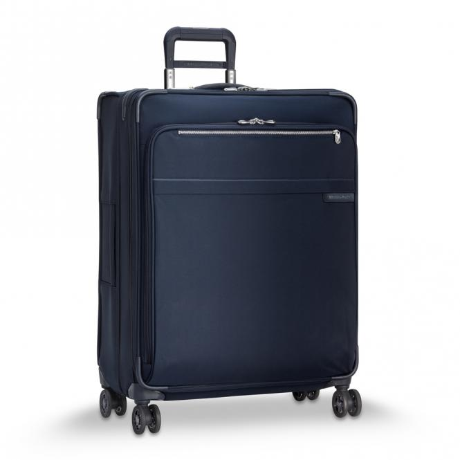 Large Expandable 4-Rollen-Trolley Navy Blue