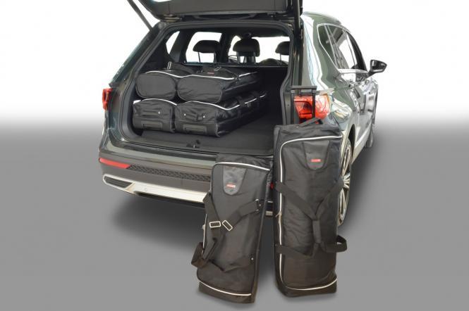 SUV (KN) Reisetaschen-Set ab 2018 (7-Sitzer mit 3. Sitzreihe umgeklappt) |3x70l + 3x45l