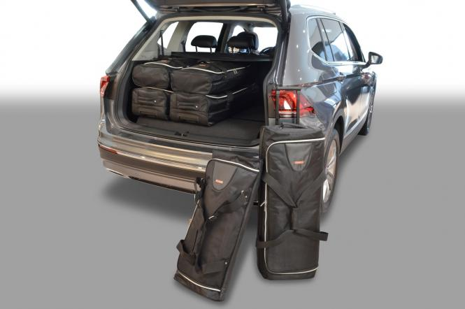 Reisetaschen-Set Allspace (7-Sitzer, 3. Sitzreihe umgeklappt) ab 2017 | 3x70l + 3x45l