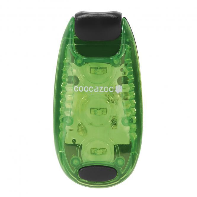 LED Sicherheits-Klemmleuchte Grün