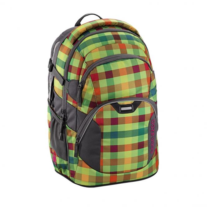Schulrucksack Hip To Be Square Green