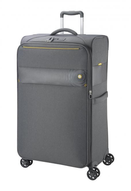 Trolley-Set 8004 4R, 3-tlg. S/M/L grau