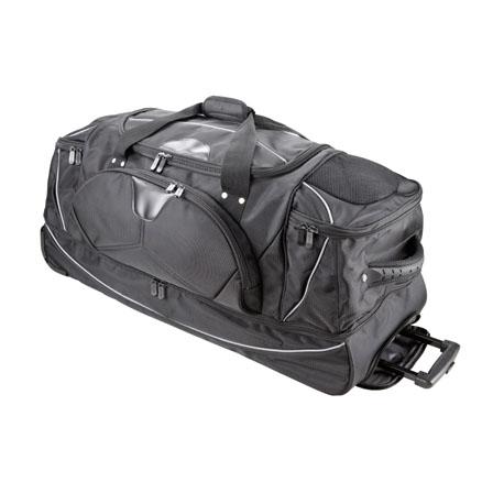 Rollenreisetasche mit Rucksackfunktion 3462NY schwarz