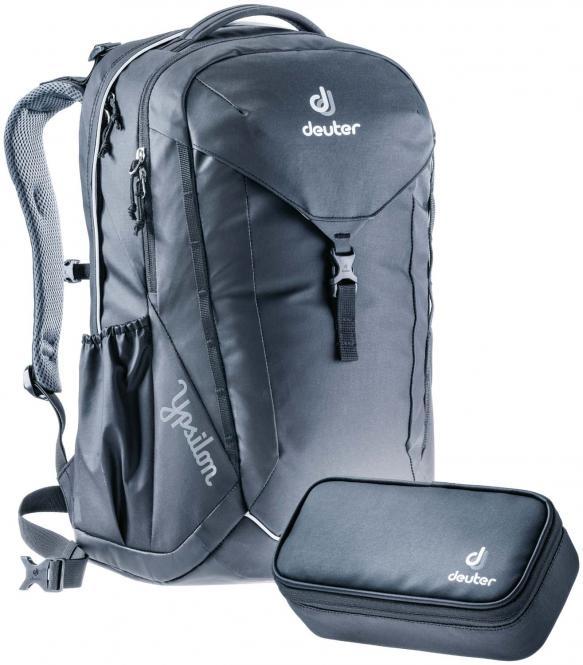Ypsilon Schulrucksack-Set 2tlg. *Limited Edition 2020* simply black