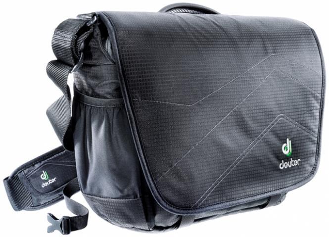 """Messenger-Bag 13"""" black-silver"""