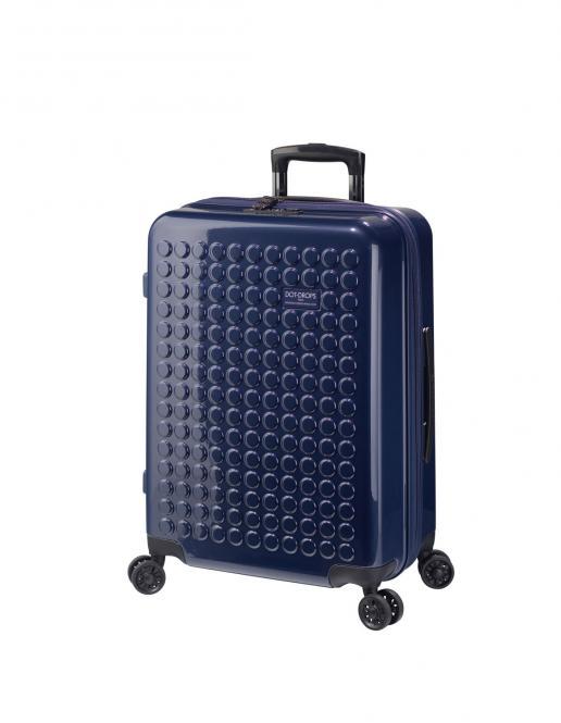 Trolley M 4R 63cm, kreativ individualisierbar Ink Blue