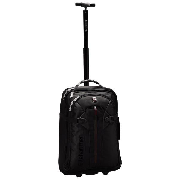 Rucksack-Trolley erweiterbar schwarz