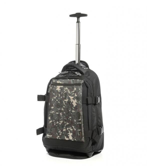 Backpack Trolley Slim 54cm camouflage