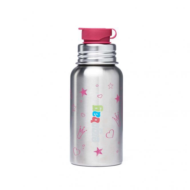 Edelstahl Trinkflaschen Prinzessin