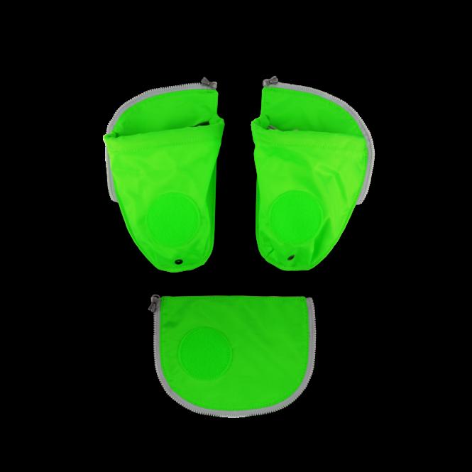 Seitentaschen Zip-Set, 3-tlg. ab 2020 Grün