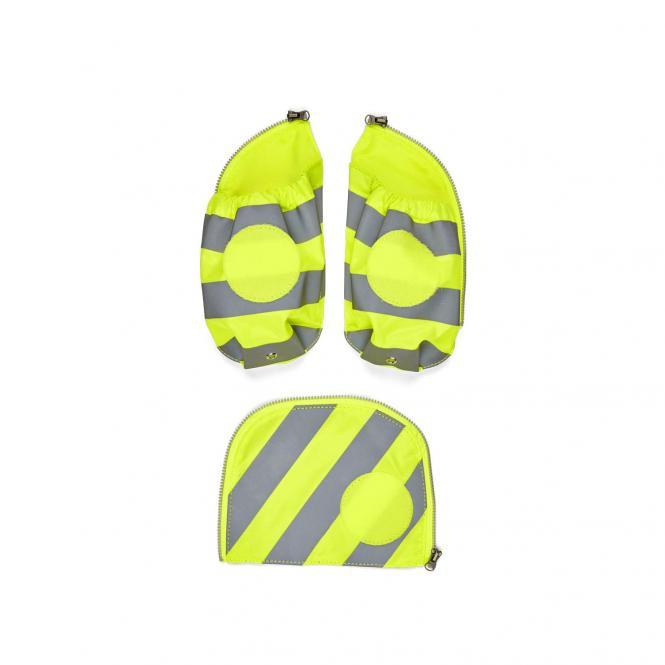 Seitentaschen Zip-Set mit Reflektorstreifen, 3-tlg. ab 2019 Gelb