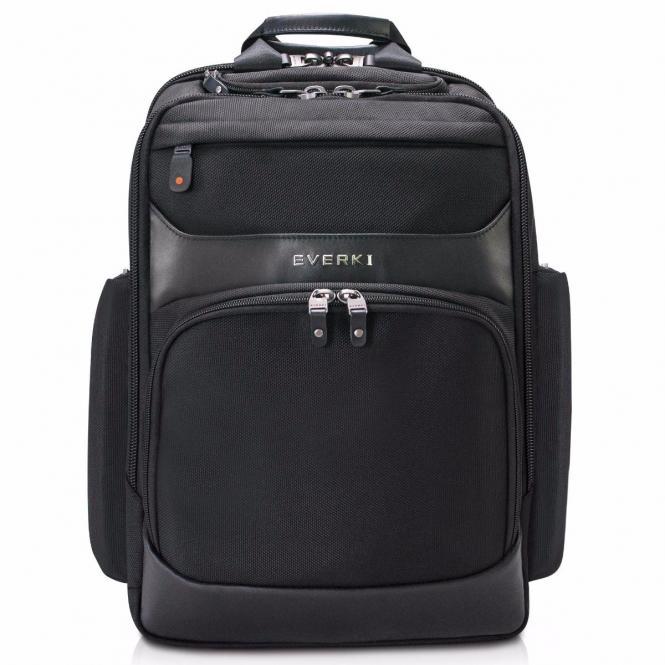 Premium Laptop-Rucksack, bis 15,6-Zoll Schwarz