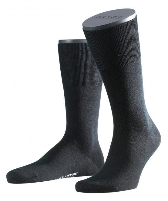 Herren Socken 47-48 black