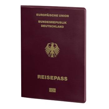 Reisepass- Datenschutzhülle mit RFID-Schutz