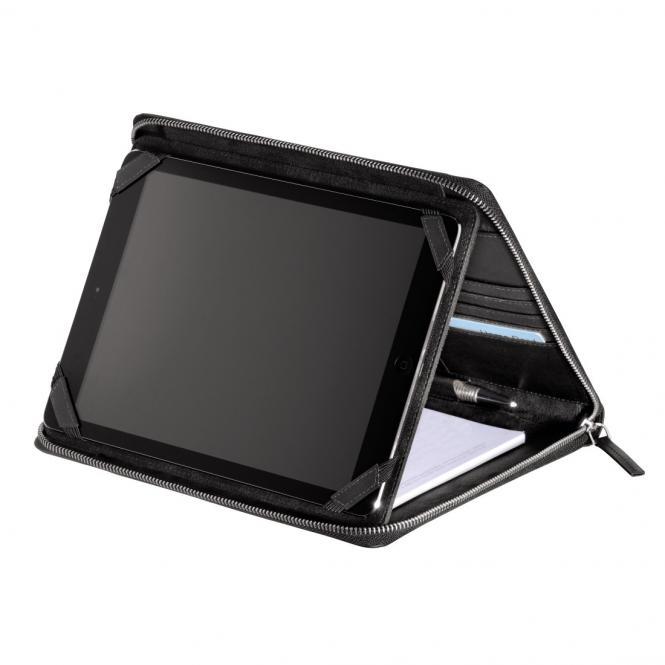"""Monday Lederorganizer A5 mit Tablet-Hülle 10.1"""" Black"""
