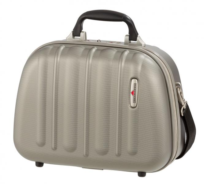 Beauty Case Champagner