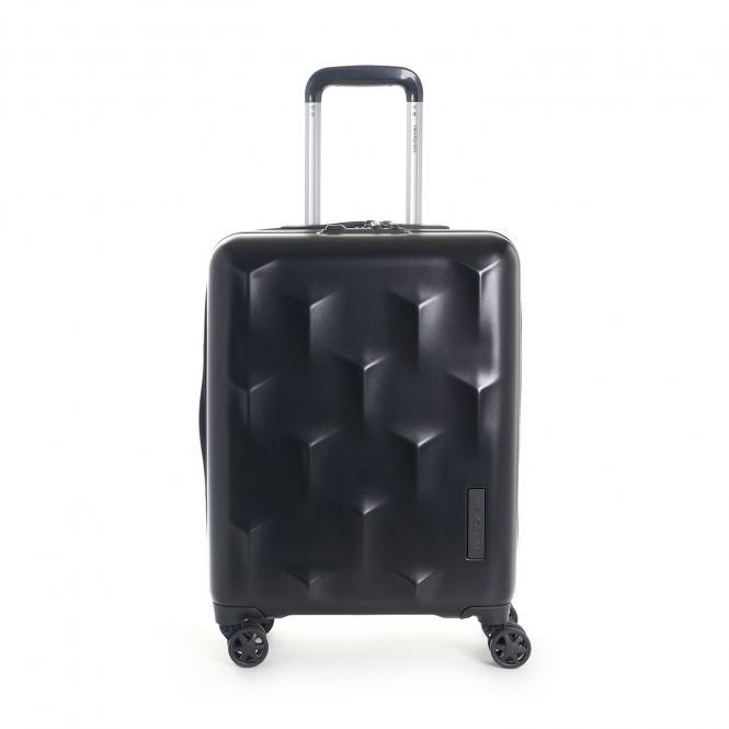 Carve XS Cabin Trolley, 4 Rollen, 55cm Black
