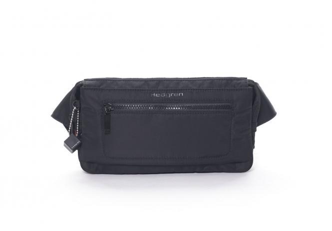 ASHARUM Hüfttasche mit RFID-Schutz Black