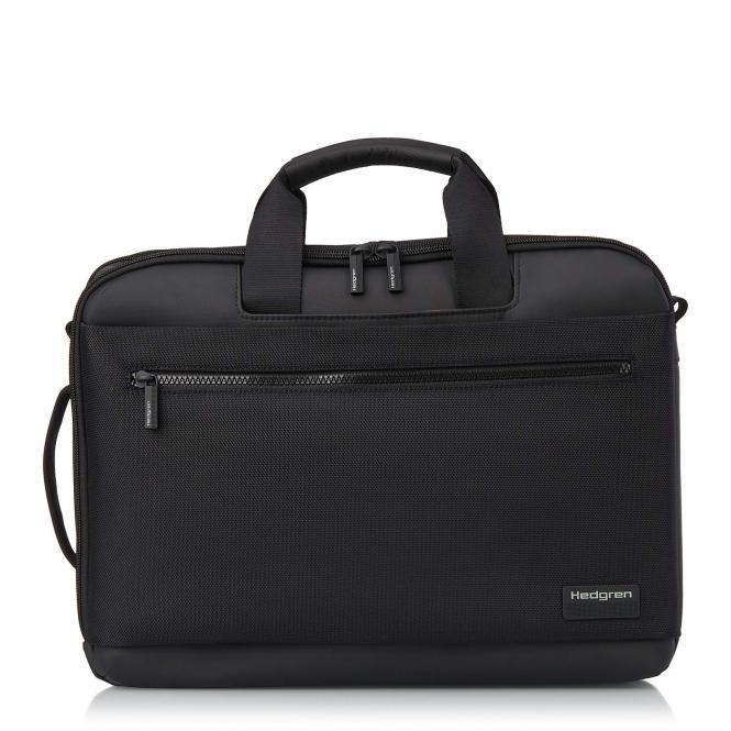 """DISPLAY 3 Way Briefcase Backpack, 15,6"""" Black"""