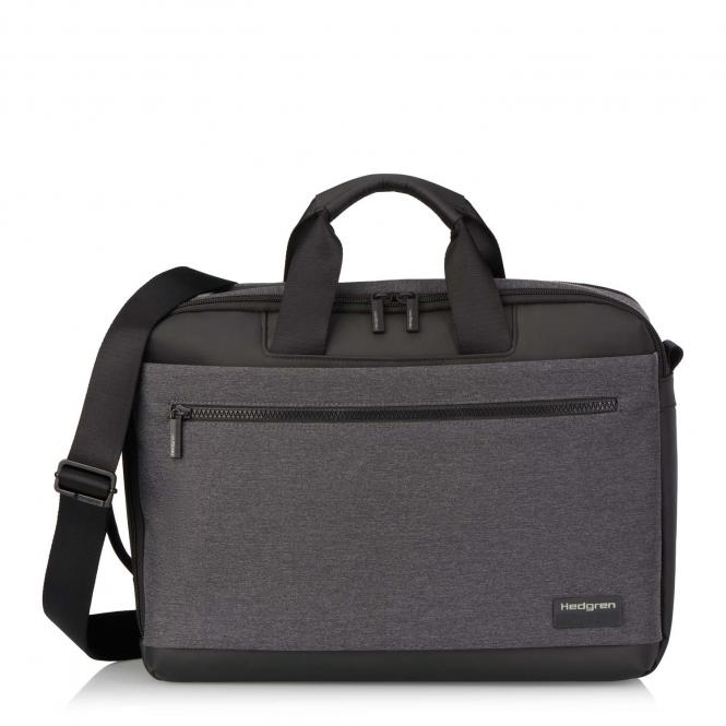 "DISPLAY 3 Way Briefcase Backpack, 15,6"" Stylish Grey"