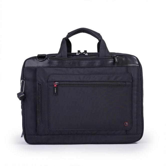 "EXPLICIT 3-way Bag 15"" erweiterbar black"