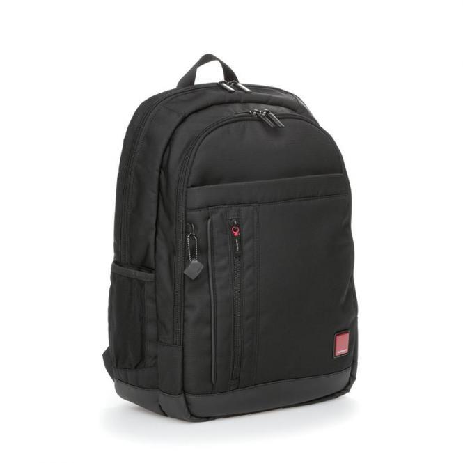 """GLIDER Business Backpack mit Laptopfach 15,6"""" Black"""