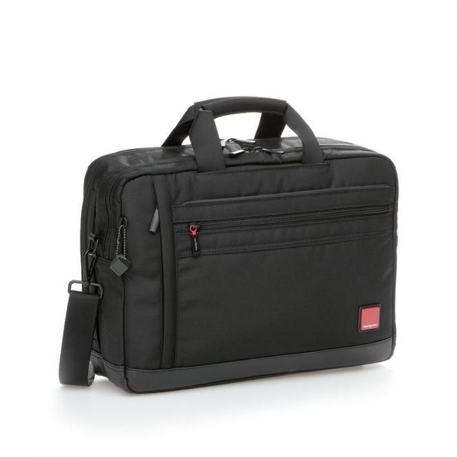 """THRUST 3 Way Business Bag mit Laptopfach 15,6"""" Black"""