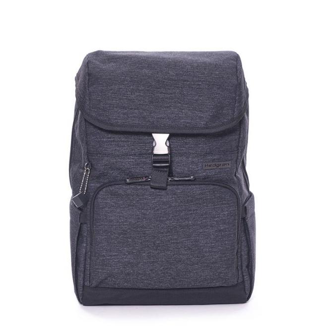 """Premix Backpack with Flap 15"""" Asphalt"""