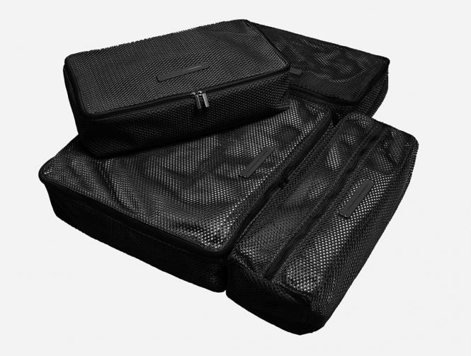 Packing Cubes 4-teiliges Set All Black