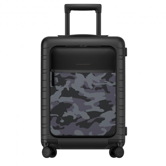 M5 VEGAN Cabin Trolley mit Fronttasche Black Camouflage