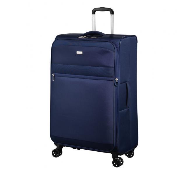 Trolley L 4R 78cm erweiterbar bleu