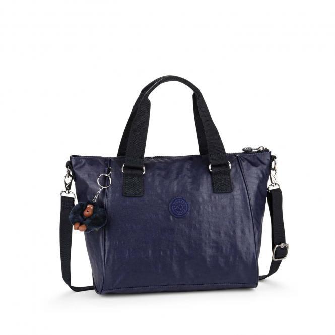 Handtasche Lacquer Indigo