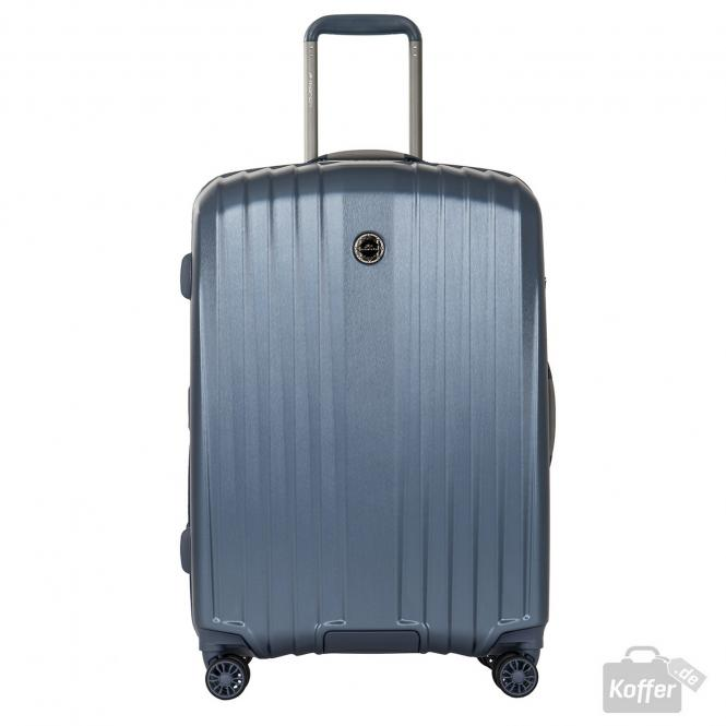 Trolley M 4w Mid Blue (Brushed)