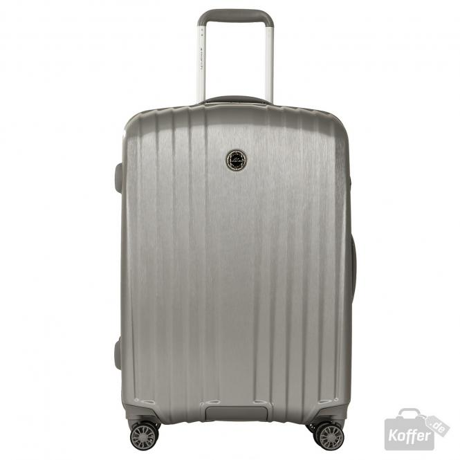Trolley M 4w Silver (Brushed)
