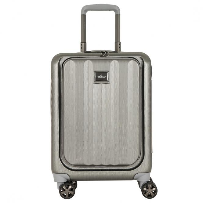 Fly Cabin Business Trolley silver brushed