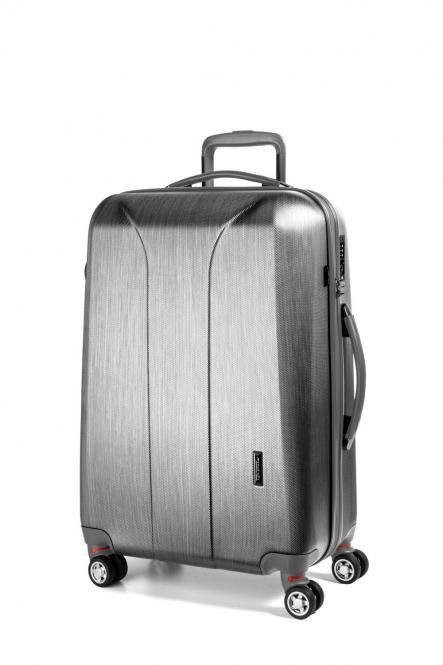 Trolley M 4W silver brushed