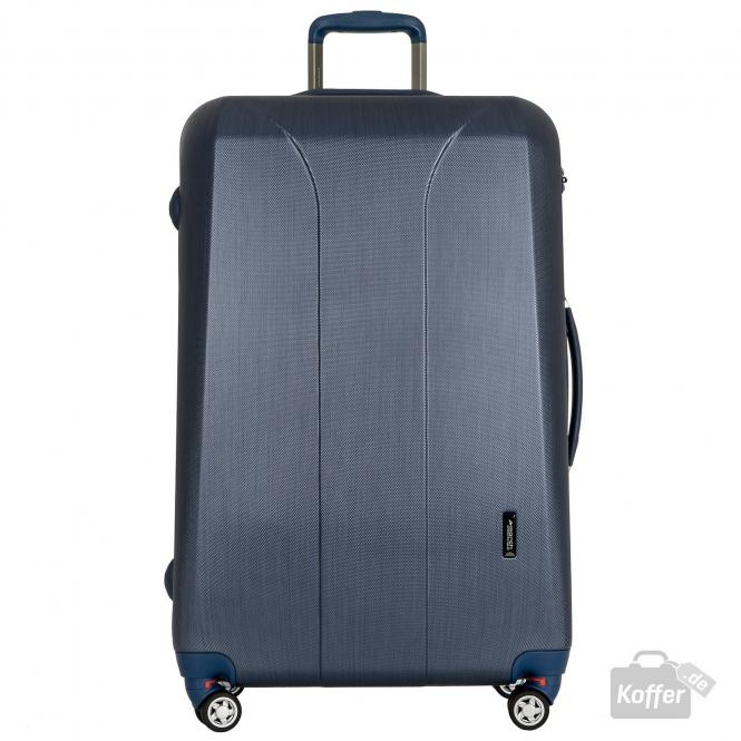 Trolley L 4W navy brushed