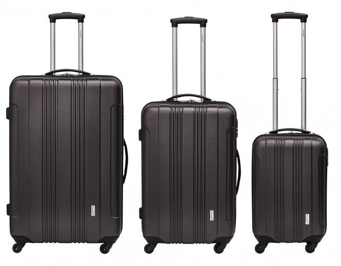 Koffer 3er-Set M, L + XL Anthrazit