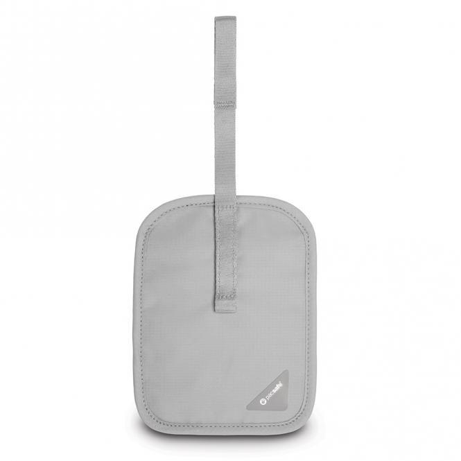 V60 RFID-blockierende geheime Gürtel-Geldtasche Neutral Grey