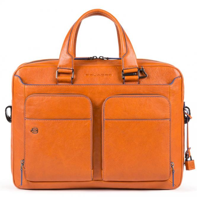 "Kurzgrifflaptoptasche 14"" Orange"