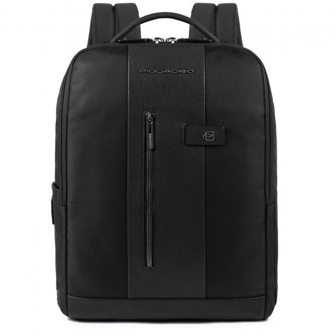 Laptoprucksack mit iPad-Fach und Diebstahlsicherung schwarz