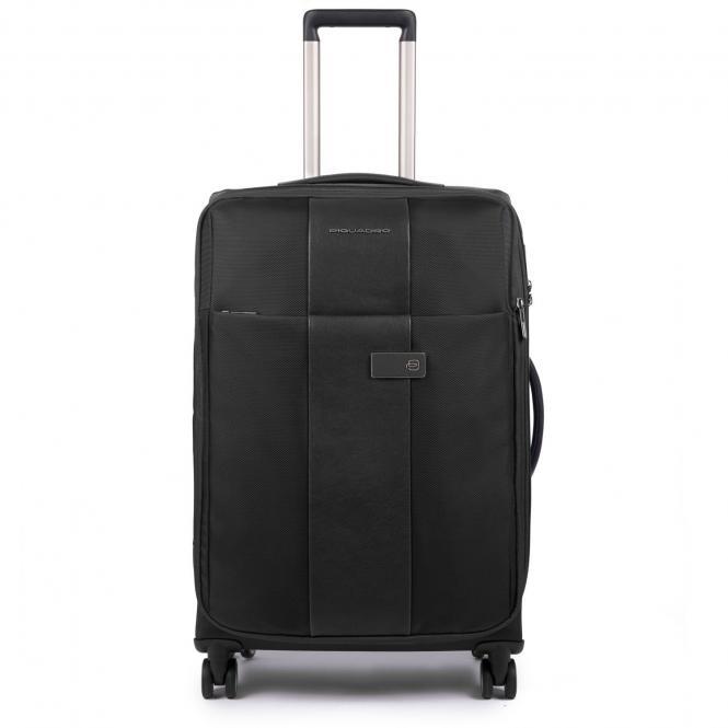 Trolley M 4w erweiterbar mit herausnehmbarer Kleiderhülle black