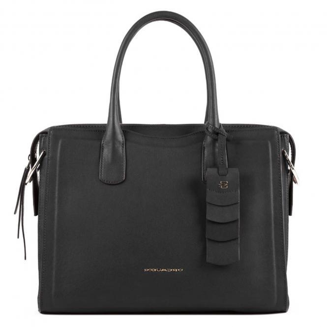 """Damenlaptoptasche 11"""" mit Anti-Stoss Schutz schwarz"""