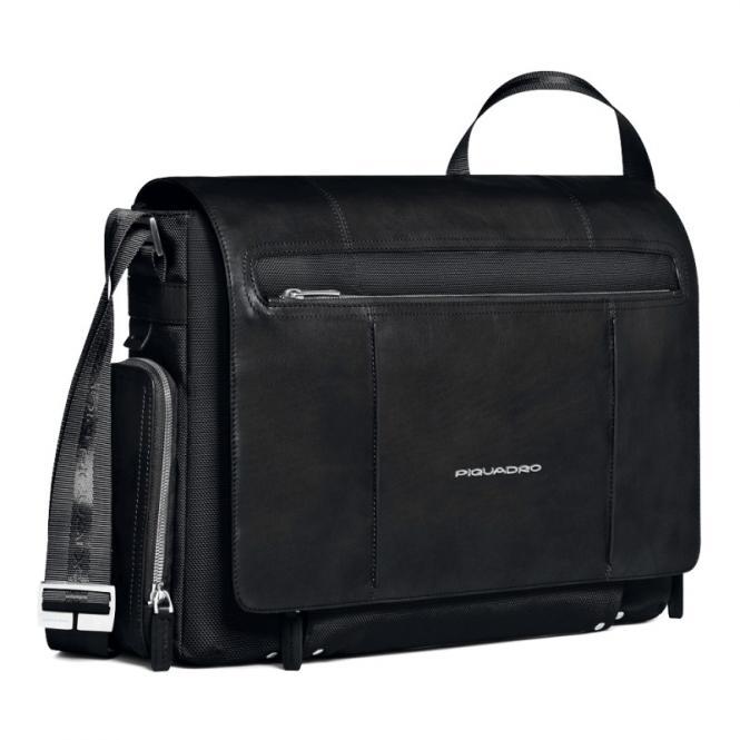 """Laptoptasche im Messengerstil 15"""" black"""