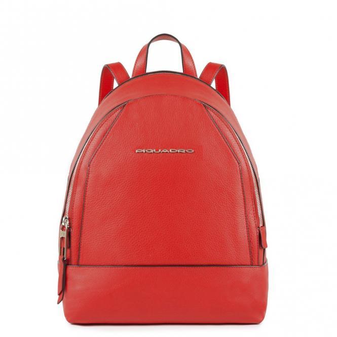 Kleiner Rucksack mit iPad®mini-Fach Muse Rot