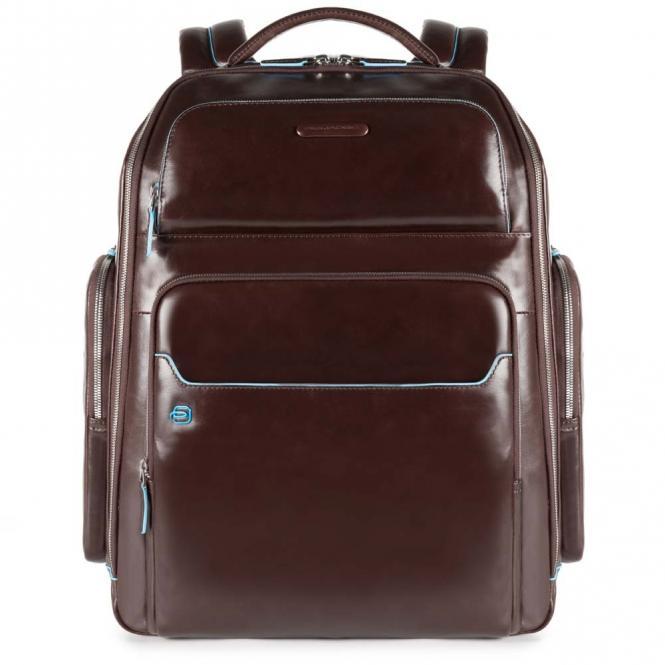 Laptoprucksack mit iPad®Air/Pro 9,7-Fach, Regenschirm- und Flaschentasche Mahagoni