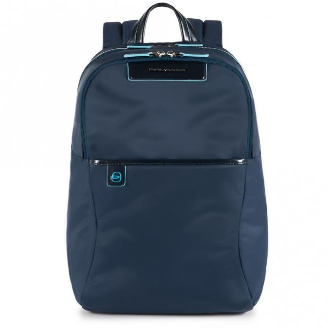 Rucksack mit herausnehmbarer PC-, iPad®Pro/iPad®mini-Hülle mit Orga-Fächern blau