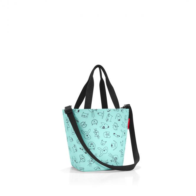 shopper XS cats and dogs mint