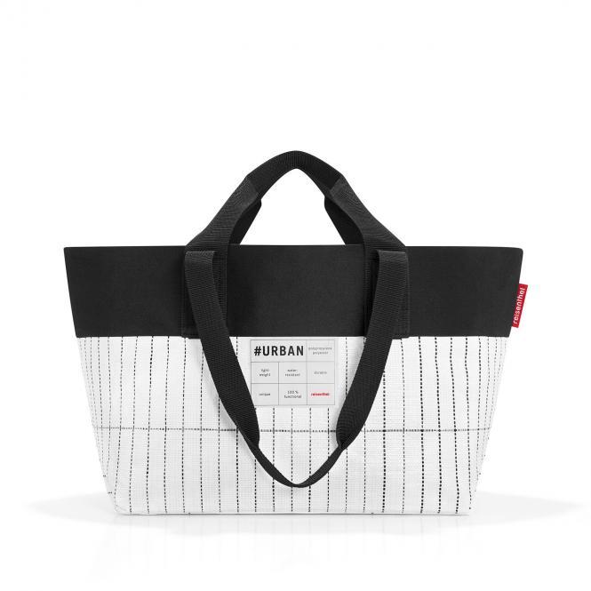 bag New York Tasche black & white