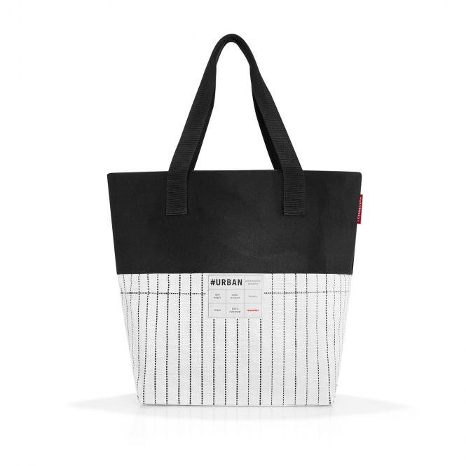 bag Paris Tasche black & white